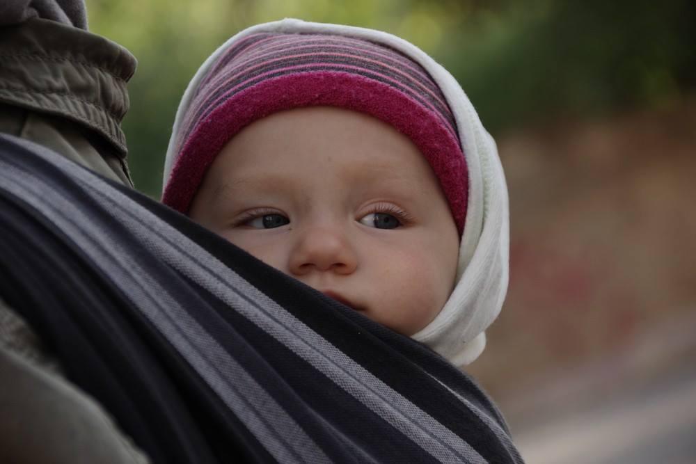 bébé porté